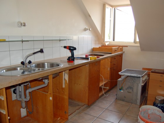 Küchenumbau  Küchenumbau von A-Z - Peter Aeby : Peter Aeby